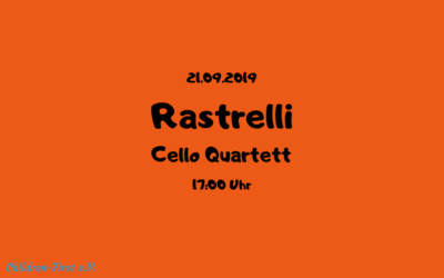 Benefizkonzert / Rastrelli Cello Quartett
