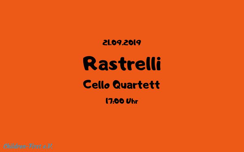 Benefizkonzert / Rastrelli Cello Quartett