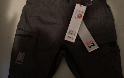 Shorts für Kinder der Firma Würth MODYF Größe 122-128